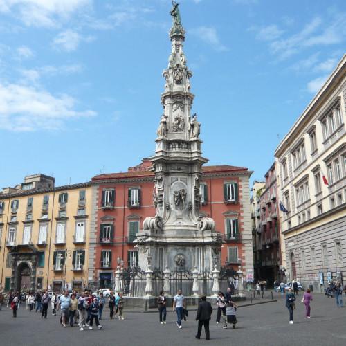 Piazza del Gesù Nuovo di Napoli