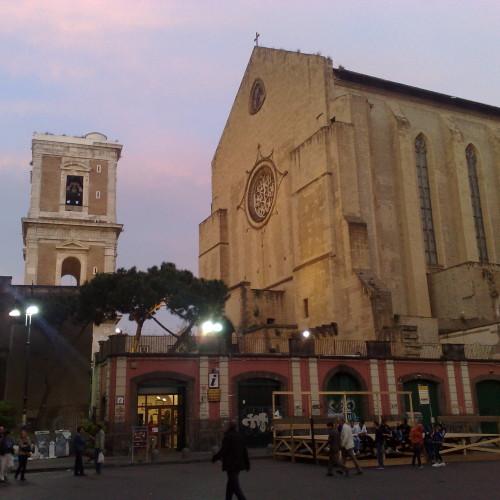 monastero di santa chiara di napoli